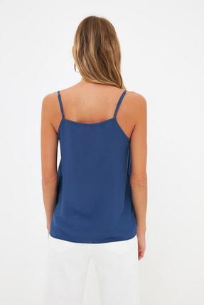 TRENDYOLMİLLA Lacivert Basic Bluz TWOSS19BB0224 4