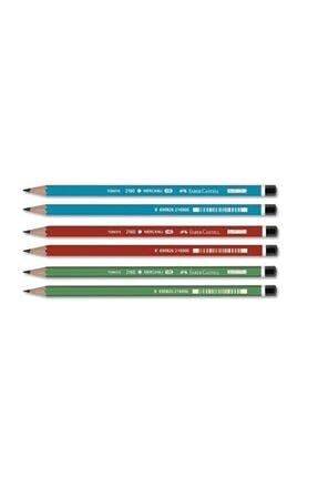 Faber Castell Mercanlı Kurşun Kalem 12 Adet 1