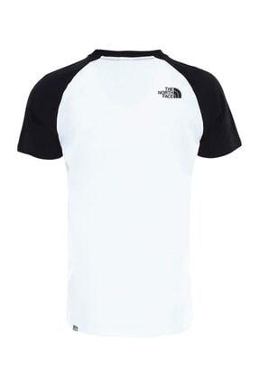 The North Face M S/S RAGLAN EASY Beyaz Erkek T-Shirt 100576729 1