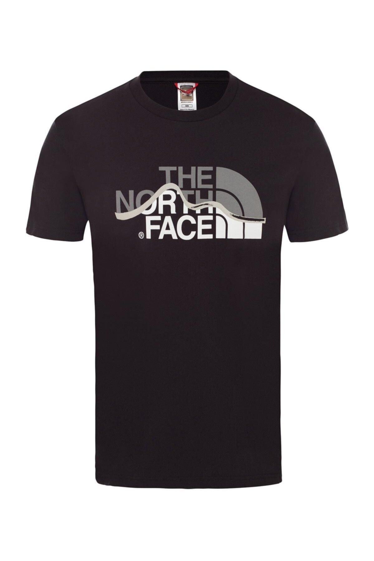Mountain Line Erkek T-shirt - T0a3g2jk3