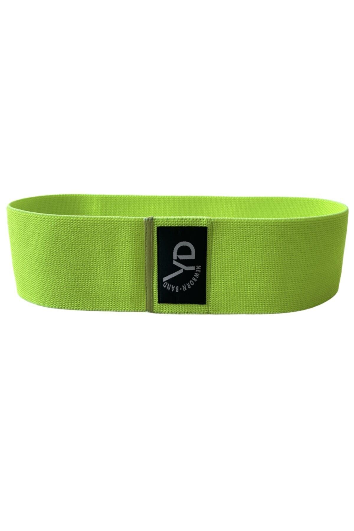 Loop Band Yd Band Direnç Lastiği Egzersiz Bandı Orta Sert Neon Yeşil(17-21 KG)