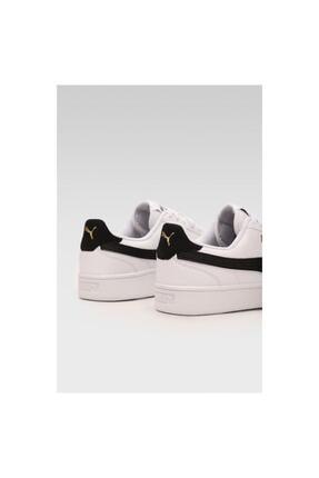 Puma SHUFFLE JR Beyaz Erkek Çocuk Sneaker Ayakkabı 101085496 3