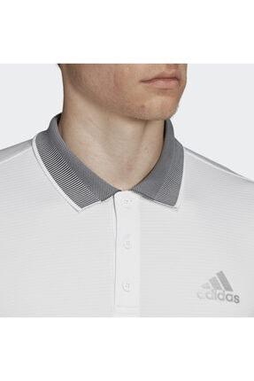 adidas Dx1804 Club Polo Beyaz Erkek Tenis Tişört 3