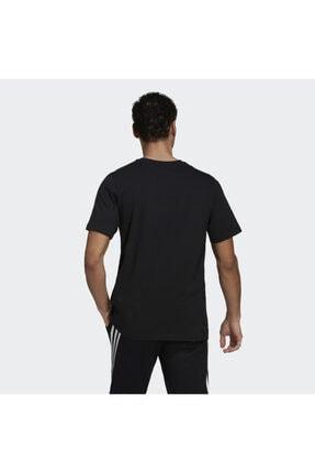 adidas Camo Bos Tee M Erkek Antrenman Tişörtü Gn6838 Siyah 1