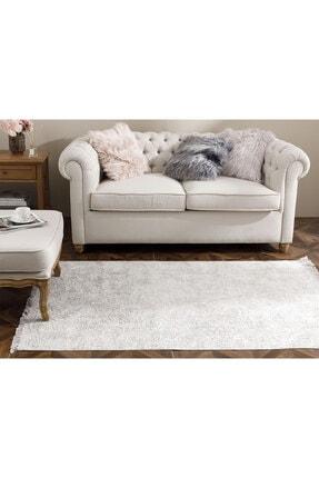 English Home Şal Desen Polyester Halı 120x180 Cm Vizon 0