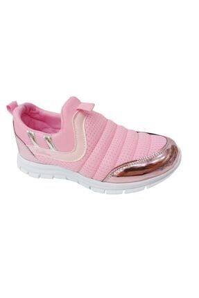 1006 Sneakers Aqua Filet Ayakkabı Pembe Parlak resmi