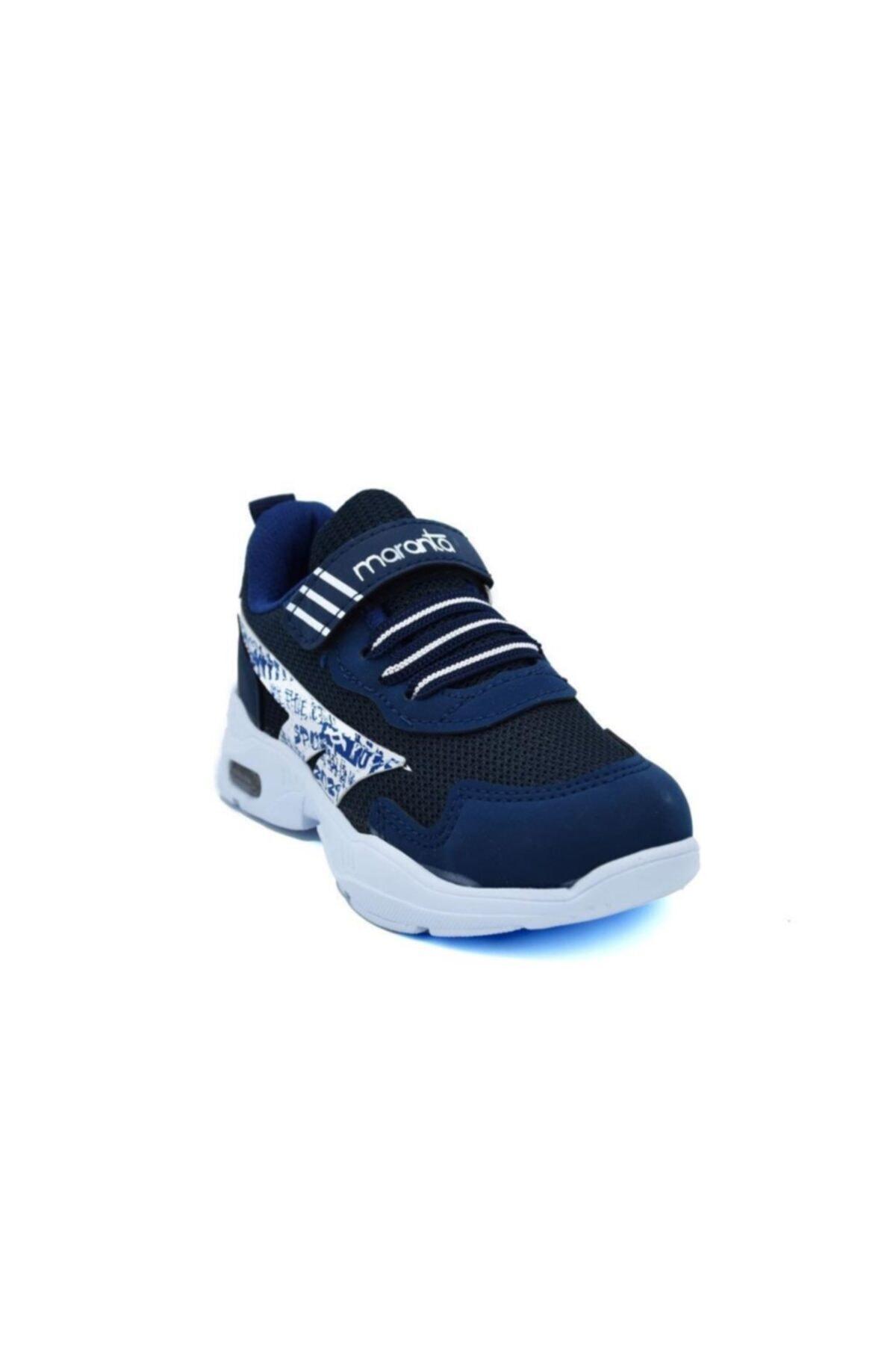 Erkek Çocuk Lacivert Işıklı Spor Ayakkabı