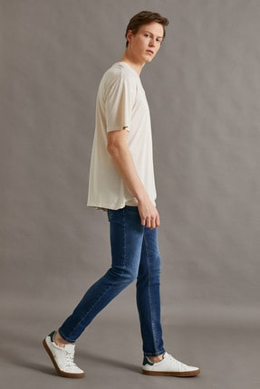 Koton Erkek Micheal Skinny Fit Jean Pantolon 0