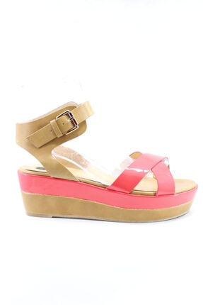 Hakiki Deri Açık Kırmızı Kadın Ayakkabı 39 Numara FAY404