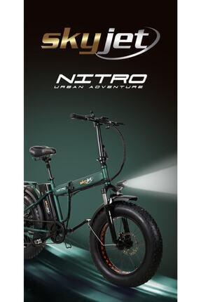 Nitro Skyjet Katlanabilir Elektrikli Bisiklet 1