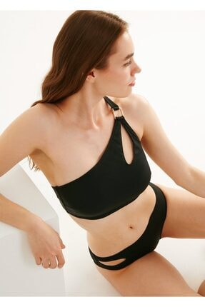 Suwen Yanı Detaylı Bikini Alt 0