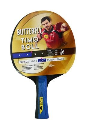 BUTTERFLY Timo Boll Gold Masa Tenisi Raketi 0