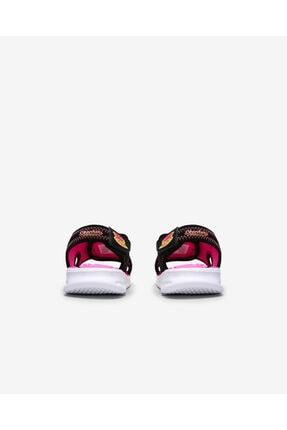 Skechers Küçük Kız Çocuk Siyah Sandalet 3