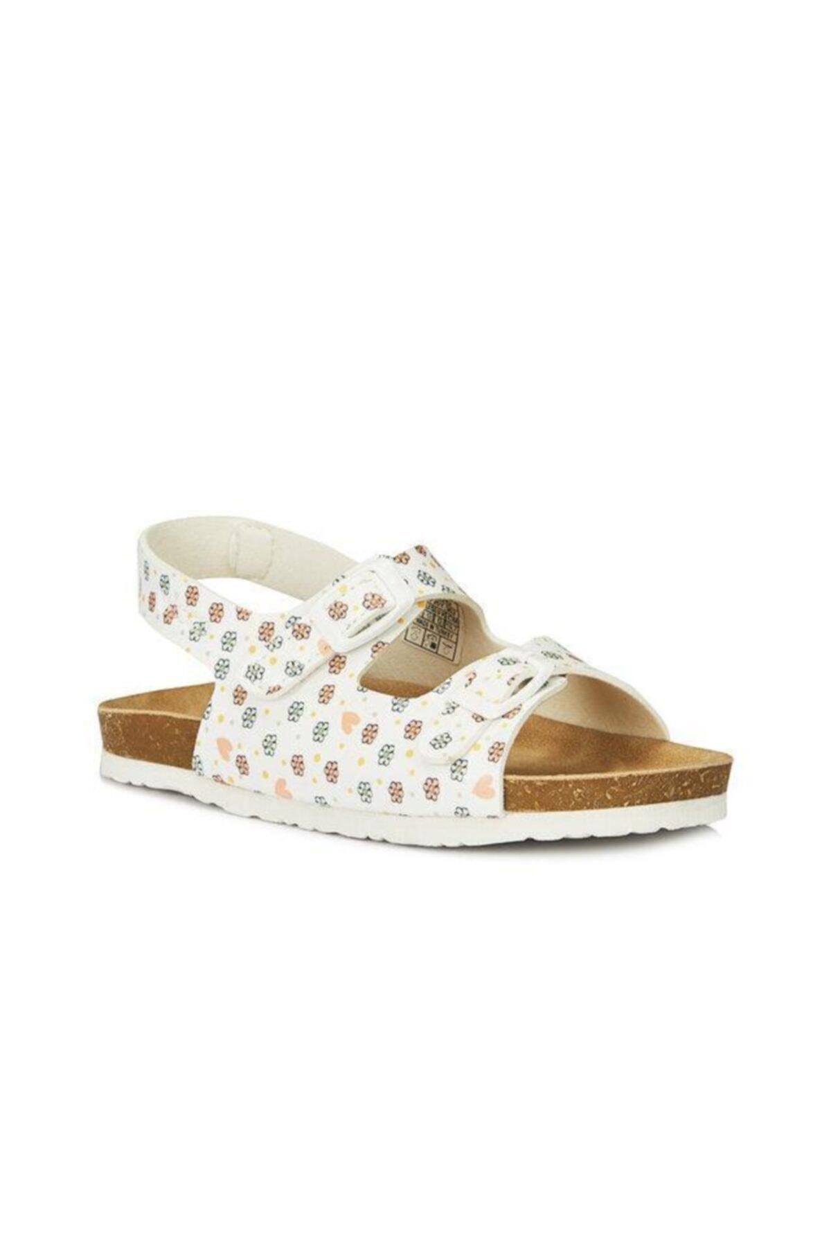 Last Kız Çocuk Beyaz Sandalet