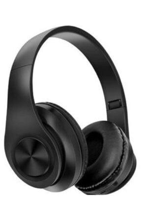 Universal P68 Bluetooth Kablosuz Stereo Kulaklık - Siyah 0