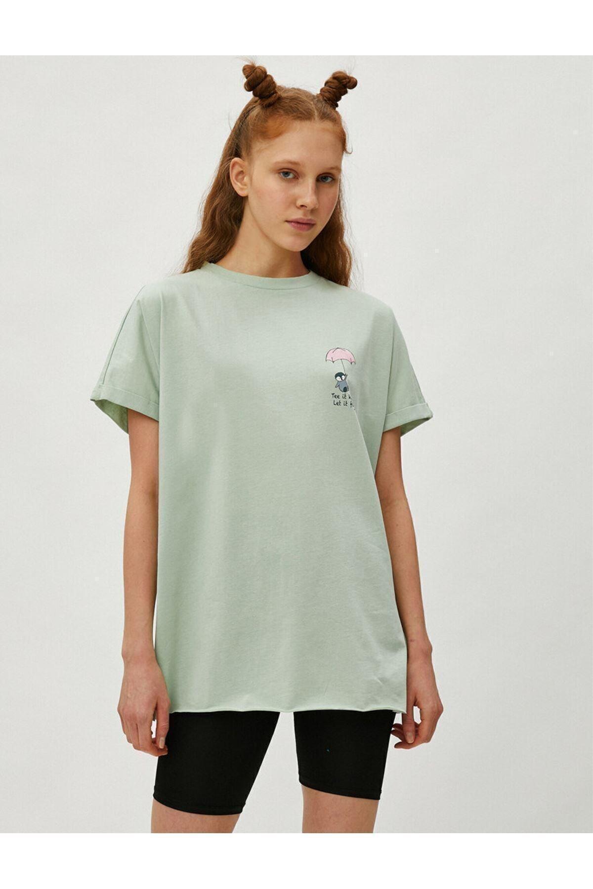 1yal18380ık Kadın T-shirt