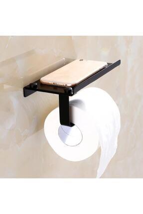 MultiStore Telefon Raflı Tuvalet Kağıtlığı Cep Telefonu Tutmalı Raf 1