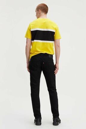 Levi's Erkek Siyah 512 Slim Taper Fit Jean Pantolon 28833-0013 2