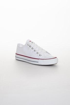 Odal Shoes Unisex Beyaz Ortopedik Şeritli Sneakers Cnvrs3579746 1