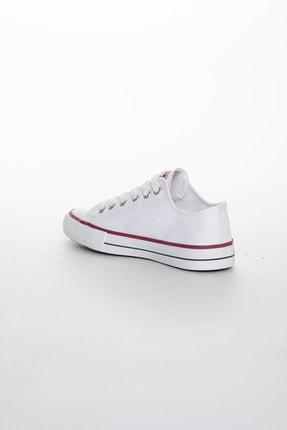 Odal Shoes Unisex Beyaz Ortopedik Şeritli Sneakers Cnvrs3579746 3