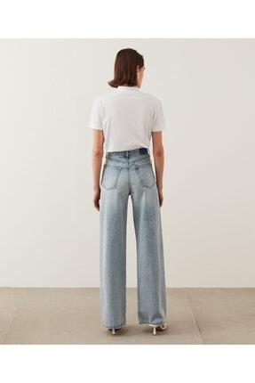 İpekyol Kadın Mavi Super High Rise Wide Leg Fit Jean Pantolon IS1210018023 3