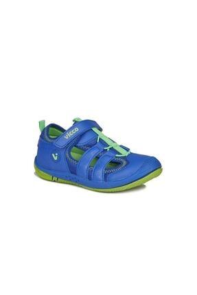 Vicco Unisex Çocuk Saks Mavi Sunny Sandalet 0