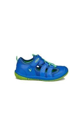 Vicco Unisex Çocuk Saks Mavi Sunny Sandalet 2