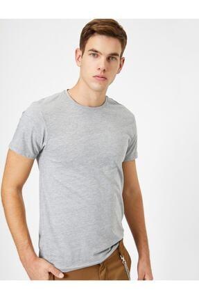 Koton Erkek Bisiklet Yaka T-shirt 0