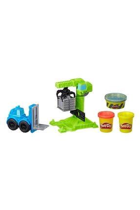 Play Doh Play-Doh Çalışkan Vinç ve Forklift 1