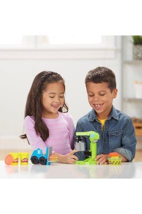 Play Doh Play-Doh Çalışkan Vinç ve Forklift 4