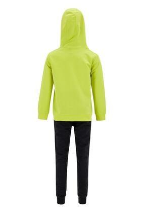 Defacto Erkek Çocuk Yazı Baskılı Sweatshirt ve Jogger Eşofman Alt Takım 2