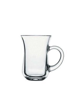 Paşabahçe 55411 Sade Keyif Kulplu Çay Bardağı 140 Cc 6 Lı 0