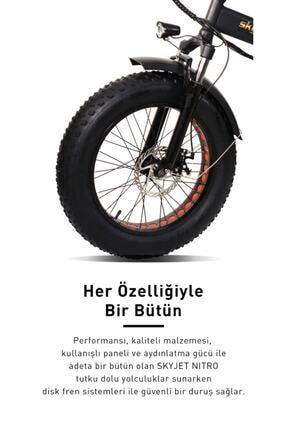 Nitro Skyjet Katlanabilir Elektrikli Bisiklet 2