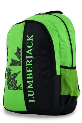 Lumberjack 8501 Sırt Çantası Yeşil-siyah 1