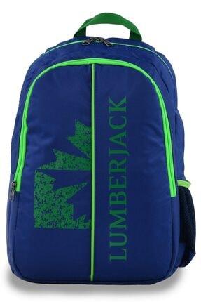 Lumberjack 8504 Sırt Çantası Lacivert-yeşil 0