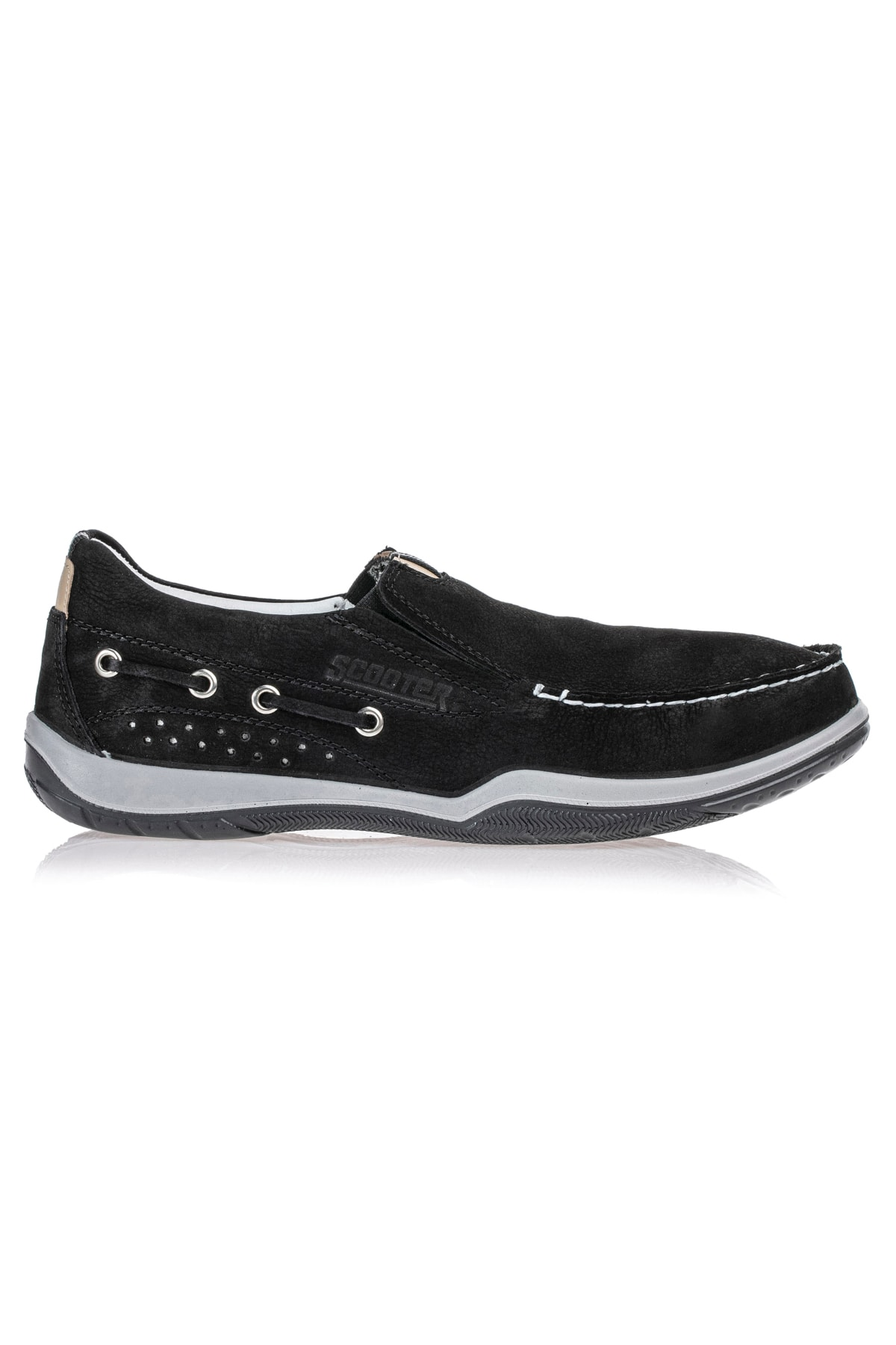 Deri Siyah Erkek Ayakkabı M2021NS 41