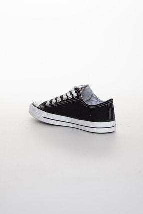 Odal Shoes Unisex Siyah Ortopedik Şeritli Sneakers Cnvrs3579746 3