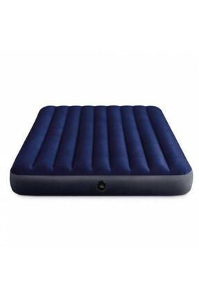Intex Fiber-tech Klasik Çift Kişilik Şişme Yatak Set 152x203x25 Cm 2adet Yastık Ve Pompa Dahil 64765 2