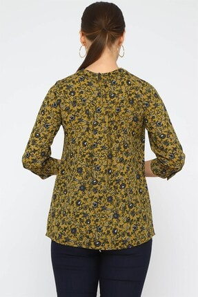 Chima Önü Pilili Bluz 3