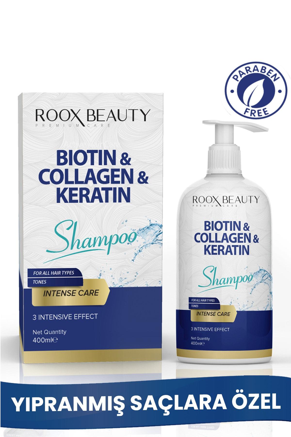 Biotin - Kolajen - Keratin Katkılı Yıpranmış Saçlara Özel Bakım Şampuanı 400 ml