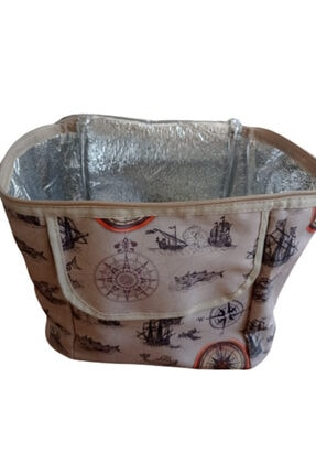 İzolasyonlu Gemi Desenli Çanta GEMİ DESENLİ ÇANTA