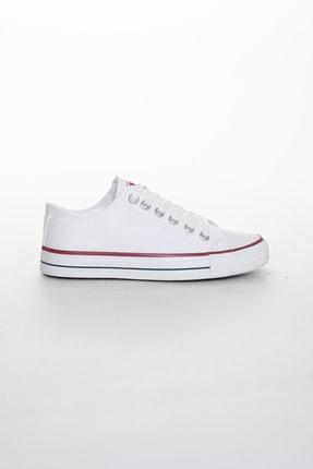 Odal Shoes Unisex Beyaz Ortopedik Şeritli Sneakers Cnvrs3579746 2