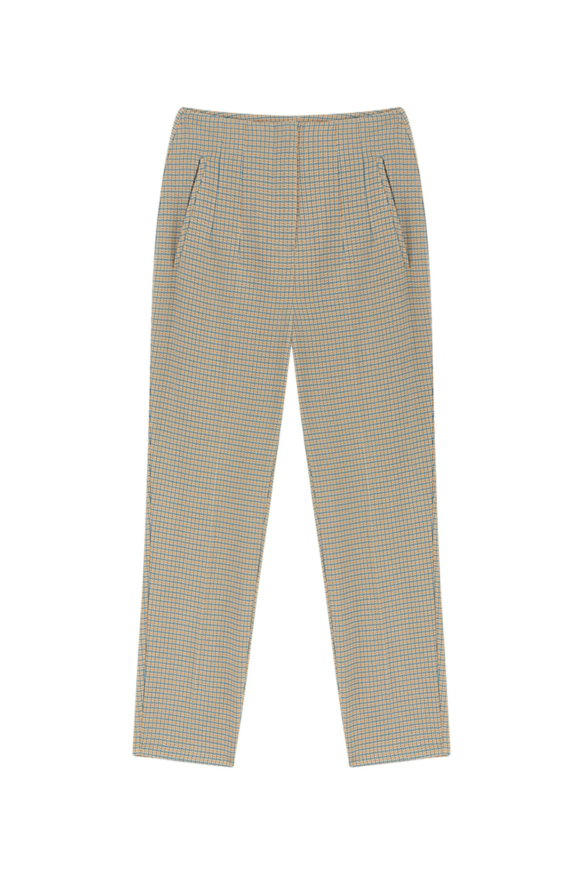 Twist Kazayağı Desen Pantolon