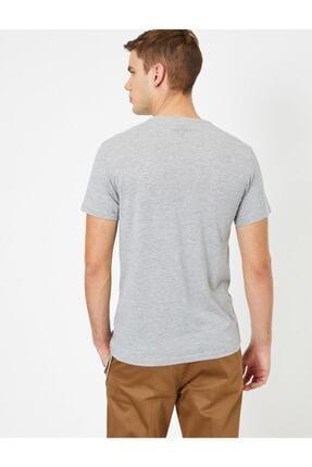 Koton Erkek Bisiklet Yaka T-shirt 3