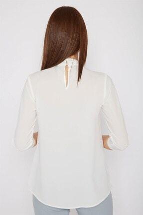 Chima Yakası Pilili Bluz 4