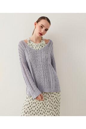 تصویر از ژاکت کش باف پشمی زنانه کد IS1210050054