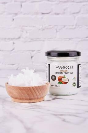 Wefood Organik Hindistan Cevizi Yağı 150 ml (Soğuk Sıkım) 2