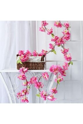 Nettenevime Yapay Çiçek Bahardalı 180cm Dolanabilen Model Japon Kiraz Çiçeği Pembe 2