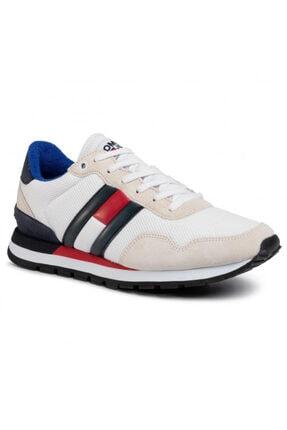 Tommy Hilfiger Erkek Beyaz Ayakkabı Em0em00399-ybs 0