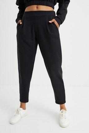 Curly Store Kadın Siyah Cepli Jogger Pantolon 3